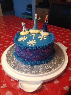 Disney Frozen Theme Cake