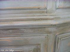 ASCP - Paris Grey over Antoinette with dark wax