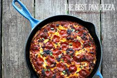 The Best Pan Pizza: How, Why, and What to Put on i