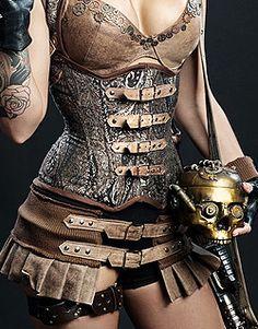 Steampunk  - ✯ http://www.pinterest.com/PinFantasy/lifestyles-~-steampunk-fashion-fantasy/