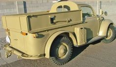 VW built a flatbed work truck for the German Army during WW2