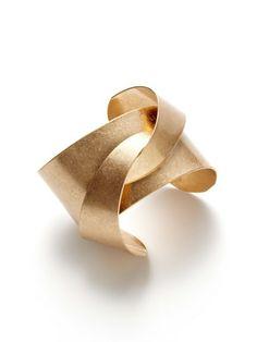 Soo Ihn Kim Jewelry Gold Jinx Cuff Bracelet