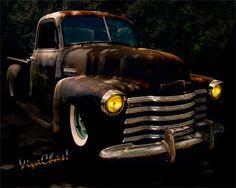 Chevy Hot Rat Rod Pickup