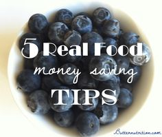 5 Real Food Money Saving Tips | Butter Nutrition