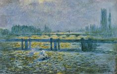 Charing Cross Bridge, Reflections on the Thames, 1899, Claude Monet