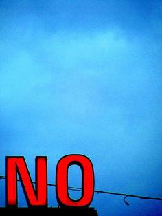 NO, sign