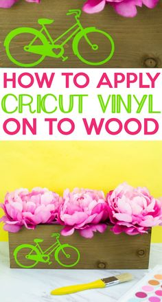 With this Revamped  Wooden Planter project that we made, we will show you How To Apply Cricut Vinyl  To Wood. #cricut #diecutting  #diecuttingmachine #cricutmachine #cricutmaker #diycricut #diycricutprojects  #cricutideas #cutfiles #svgfiles #diecutfiles #cricutideas #diycricutprojects  #cricutprojects #cricutcraftideas #diycricutideas