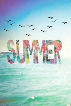 Summer! Come on summer! I just can not wait! Summer 2014 is going to be great! ☀️