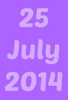 25 Jul 2014