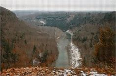 Letchworth State Park, NY. Photo from #Mosaically