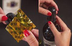 Wine Bottle Condoms