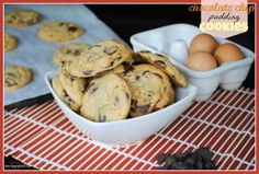 Chocolate Chip Pudding Cookies - Shugary Sweets