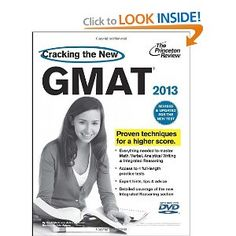 Cracking the New GMAT with DVD, 2013 Edition has been completely revised and updated for the changes coming to the new GMAT in June 2012. It includes: Access to 4 full-length practice tests; Tons of sample problems and drills in the book covering all 4 GMAT sections, plus  more extra practice on the companion web site; Step-by-step instruction on the new GMAT question types, and much more.