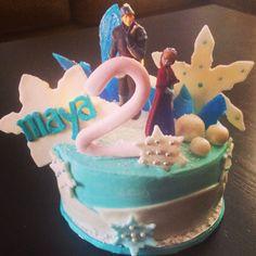 Disney's Frozen Anna Happy Birthday Cake