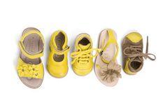 bisgaard sandal yellow