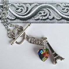 $17.00.  WE LOVE PARIS by MimiJewels on Etsy.  Love this and the vendor.  :)