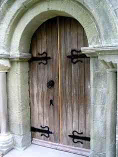 Jevington Church Doors