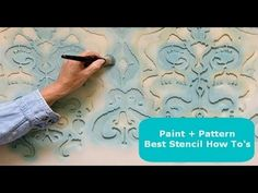 Royal Design Studio - How To Favorites with Wall Stencils DIY Projects Decorative Painting Tutorials - YouTube