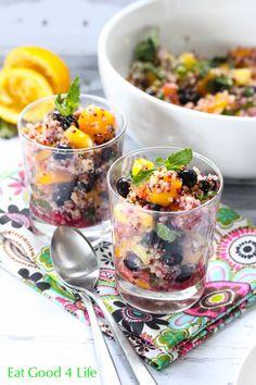 Eat Good 4 Life Quinoa mixed fruit salad