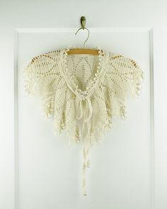 Ravelry: Asterid pattern by Kalurah #crochet #lace #collar #pattern