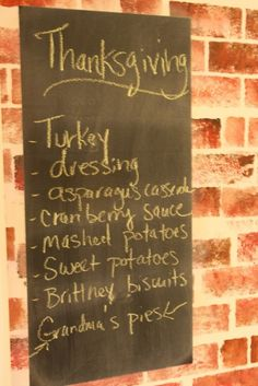 Simple #Thanksgiving Menu with Tips and Allergy-Friendly recipes www.hodgepodge.me