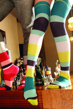socks! Love the color scheme