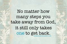 So true ~ he is always there to rescue me!