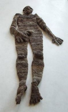 Human made out of human hair