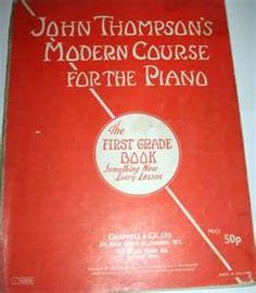.this is my first piano book!  I even remember how to play the first 2 songs..