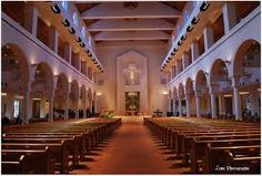 Basilica of Mary Queen of the Universe in Orlando, Florida.  ... A very beautiful Church. Been there for Mass when staying at Disney World.