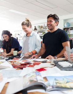 A behind the scenes look at Jamie Durie's Sydney office on The Design Files today! Photo by Phu Tang for thedesignfiles.net