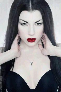 Goth Gothic model Lady Morgana