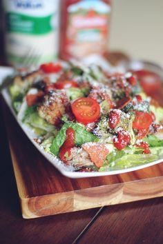 pizza chicken, chicken salads, dashing dish, food, pizzas