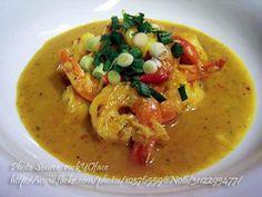 Shrimp Curry with Saba