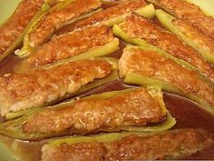 Chinese Food Fix: Stuffed Banana Peppers