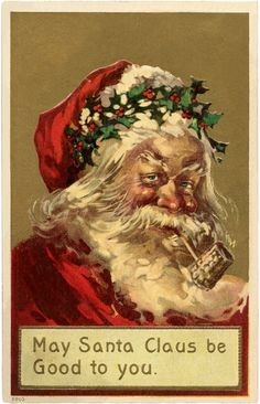 Old World Santa Holl