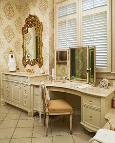 mirror mirror, makeup vanities, dream bathrooms, dream homes, bathroom vanities, bathroom designs, master baths