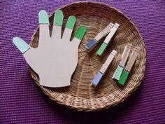 Homemade Montessori Manipulatives. Preschool. Materials and Ideas for preschool activities