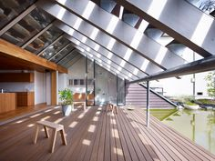 Cocage Showroom by Suppose Design #roof #design #architecture #japan