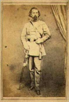 General Loyd Tilghman CSA killed by the last artillery round fired by Federal forces at the battle of Champion Hill May 16,1863.