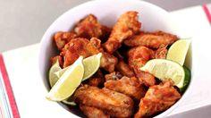 Fiery Salsa Hot Wings Recipe
