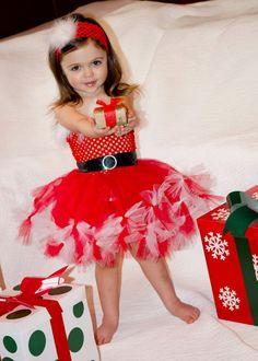 Santa Baby  dress by whererainbowsend1,  www.etsy.com/listing/166115715/santa-baby-dress-sizes-6-9-9-12m-12-18m?