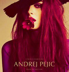 magazine covers, andrej pejic, magazines, flower power, fashion editorials
