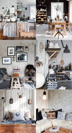 nordic style This is so what I want my house to look like.