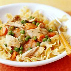 chicken noodle casserole...a weight watchers recipe.