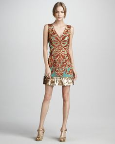 Tracy Reese Sequined Dress - Neiman Marcus