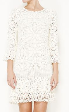 little white lace dress. perfect for breezy summer nights