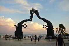 #Sunset in #PlayaDelCarmen