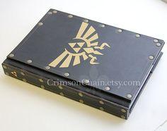 Legend of Zelda sketchbook cover by Crimson Chain by CrimsonChain, $55.00