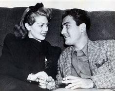 avaritagrace:    Lana Turner and her husband, famous clarinetist, composer, and bandleader, Artie Shaw.  *Ava would later marry him as well.